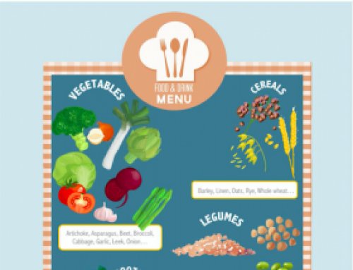 Infographic – Where to find prebiotics in our food?